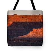 Sunrise Cascade Tote Bag by Lon Dittrick