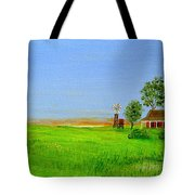Sunrise - Country Australia Painting Tote Bag