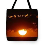 Sunrise Crown Tote Bag