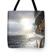 Sunrise Cruise Tote Bag
