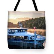 Sunrise Cruise To Doubtful Sound Tote Bag