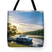 Sunrise Cruise To Doubtful Sound, New Zealand Tote Bag