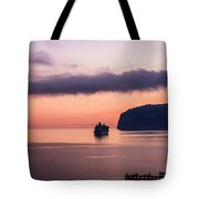 Sunrise Departure Tote Bag