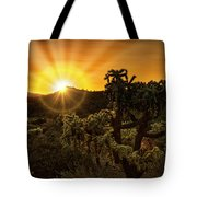 Sunrise Done With An Arizona Flare Tote Bag