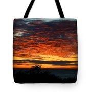 Sunrise Drama By The Sea Tote Bag