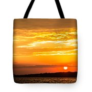 Sunrise Field Goal Tote Bag