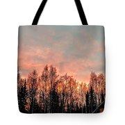 Sunrise Fire  Tote Bag