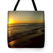 Sunrise First Light Tote Bag