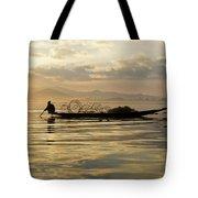 Sunrise Fisherman Tote Bag