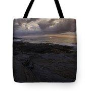Sunrise From Beavertail In Jamestown Rhode Island Tote Bag
