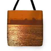 Sunrise Ft Adams Tote Bag