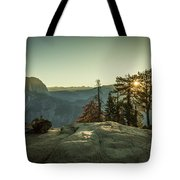 Sunrise Glacier Point Tote Bag