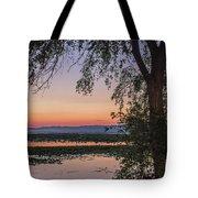 Sunrise Haze Tote Bag