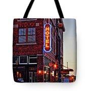 Sunrise Hotel Tote Bag