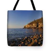 Sunrise In Acadia Tote Bag