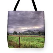 Sunrise In Boxley Valley Tote Bag