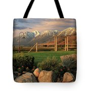 Sunrise In Carson Valley Tote Bag