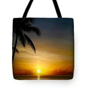 Sunrise In Florida / A Tote Bag