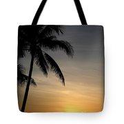 Sunrise In Florida / D Tote Bag