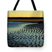Sunrise In Gold Tote Bag