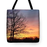 Sunrise In Illinois Tote Bag