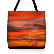 Sunrise In Ithaca Tote Bag by Paul Ge