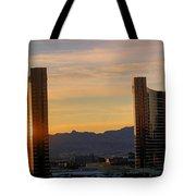 Sunrise In Las Vegas Tote Bag