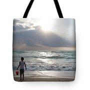 Sunrise In Miami Tote Bag