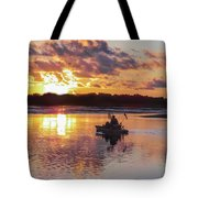 Sunrise In Murrells Inlet, Sc Tote Bag