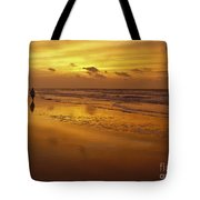 Sunrise In Orange Tote Bag