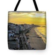 Sunrise In Rio De Janeiro Tote Bag