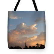 Sunrise In Sosua, Dr Tote Bag