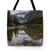 Sunrise In The Rocky Mountains Tote Bag