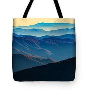 Sunrise In The Smokies Tote Bag
