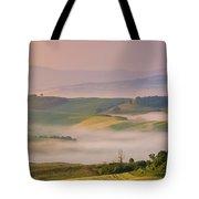 Sunrise In The Tuscany Tote Bag