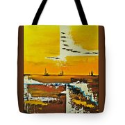 Sunrise In The West Tote Bag
