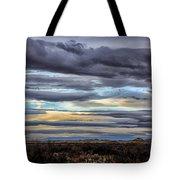Sunrise In The Western Sky  Tote Bag