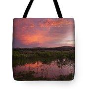 Sunrise In The Wichita Mountains Tote Bag