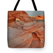 Sunrise In Valley Of Fire State Park Tote Bag