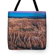 Sunrise Light On Bryce Canyon Tote Bag