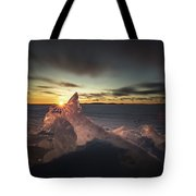 Sunrise March 24 740 Am Sturgeon Bay Tote Bag