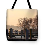 Sunrise Meredith Bay Tote Bag