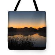 Sunrise Tote Bag by Michael Tesar