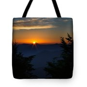 Sunrise Myrtle Point Tote Bag