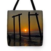 Sunrise At Ocean City Tote Bag
