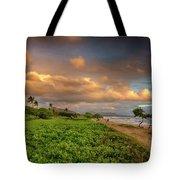 Sunrise Nukolii Beach Kauai Hawaii 7r2_dsc4068_01082018 Tote Bag