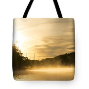 Sunrise Of Fire Tote Bag