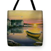 Sunrise On Blue Rocks 2 Tote Bag