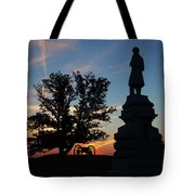 Sunrise On East Cemetery Hill Tote Bag