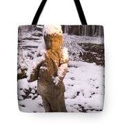 Sunrise On Lady Of The Snow Tote Bag